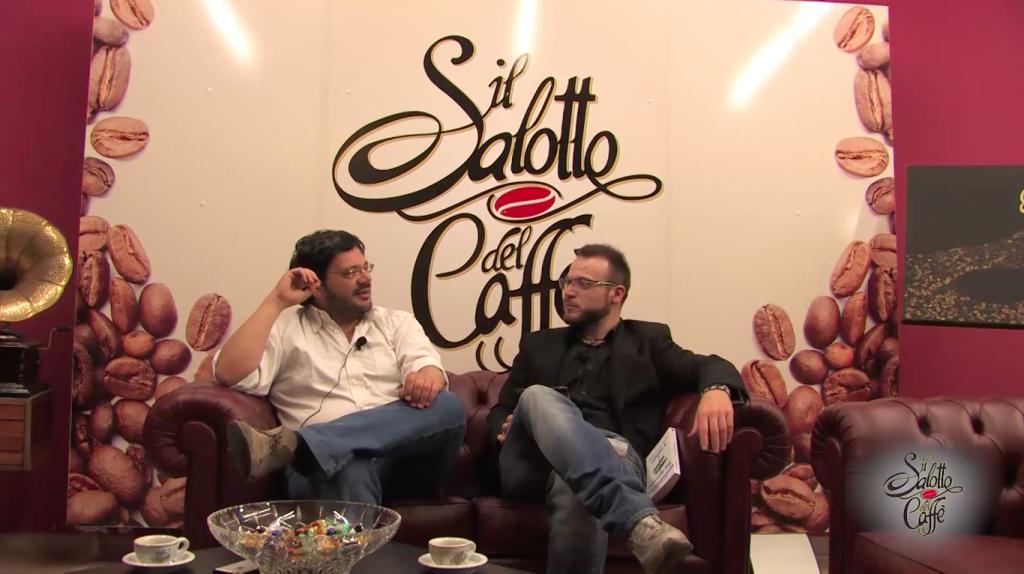 Antonio Menna al Salotto del Caffè