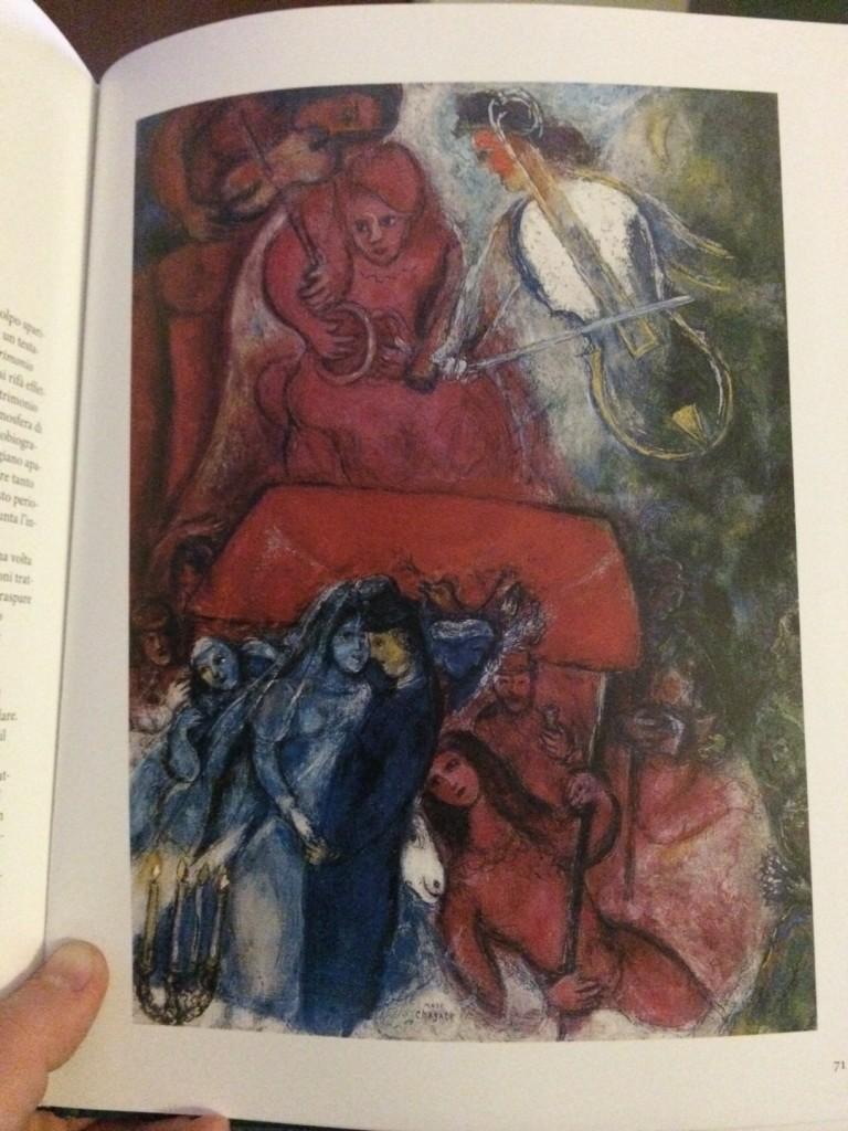 Chagall. Matrimonio.