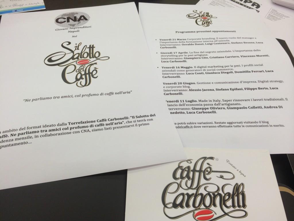 Il Salotto del Caffè. Calendario e programma degli incontri